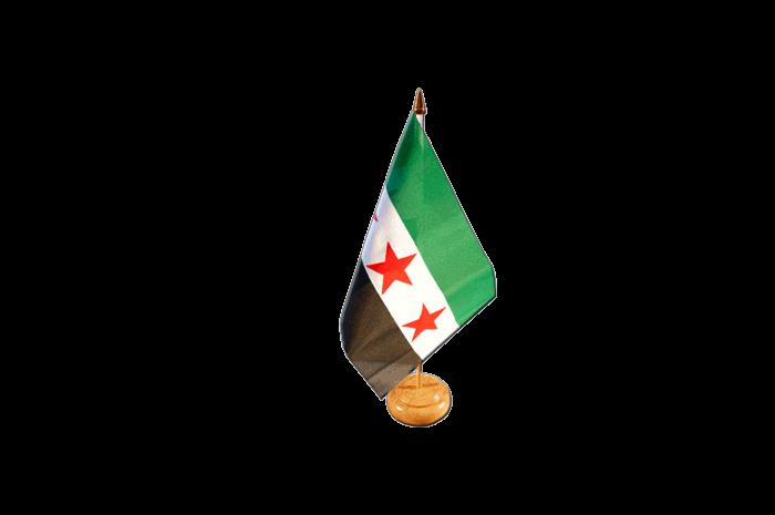 Tischfahne Syrien 10 x 15 cm Fahne Flagge