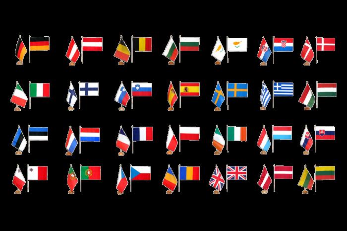 flaggen AZ FLAG Prestige TISCHFLAGGE FINNLAND 22x15cm Metall FINNISCHE TISCHFAHNE 15 x 22 cm