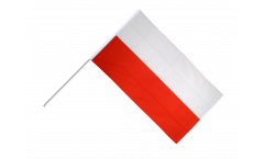 Stockflagge Polen - 60 x 90 cm