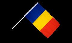 Stockflagge Rumänien - 60 x 90 cm