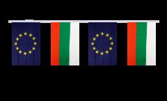 Freundschaftskette Bulgarien - Europäische Union EU - 15 x 22 cm