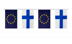 Freundschaftskette Finnland - Europäische Union EU - 15 x 22 cm
