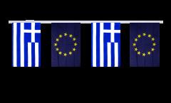 Freundschaftskette Griechenland - Europäische Union EU - 15 x 22 cm