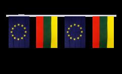 Freundschaftskette Litauen - Europäische Union EU - 15 x 22 cm