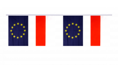 Freundschaftskette Polen - Europäische Union EU - 15 x 22 cm