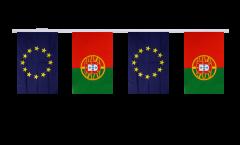 Freundschaftskette Portugal - Europäische Union EU - 15 x 22 cm