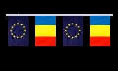 Freundschaftskette Rumänien - Europäische Union EU - 15 x 22 cm
