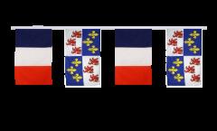 Freundschaftskette Frankreich - Picardie - 30 x 45 cm