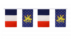 Freundschaftskette Frankreich - Franche-Comté - 30 x 45 cm