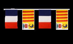 Freundschaftskette Frankreich - Provence Alpes Côte d'Azur - 30 x 45 cm