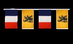 Freundschaftskette Frankreich - Nord Pas de Calais - 30 x 45 cm