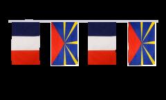 Freundschaftskette Frankreich - Reunion - 30 x 45 cm