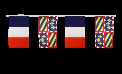 Freundschaftskette Frankreich - Burgund - 30 x 45 cm