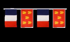 Freundschaftskette Frankreich - Poitou Charentes - 30 x 45 cm