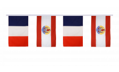 Freundschaftskette Frankreich - Französisch Polynesien - 30 x 45 cm