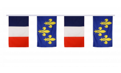 Freundschaftskette Frankreich - Île de France - 30 x 45 cm