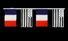 Freundschaftskette Frankreich - Bretagne - 30 x 45 cm