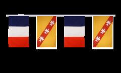 Freundschaftskette Frankreich - Lothringen - 30 x 45 cm