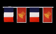 Freundschaftskette Frankreich - Languedoc-Roussillon - 30 x 45 cm