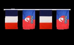 Freundschaftskette Frankreich - Paris - 30 x 45 cm