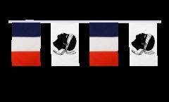 Freundschaftskette Frankreich - Korsika - 30 x 45 cm