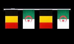 Freundschaftskette Belgien - Algerien - 15 x 22 cm