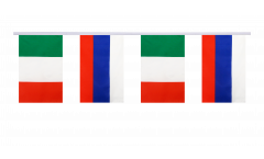 Freundschaftskette Italien - Russland - 15 x 22 cm
