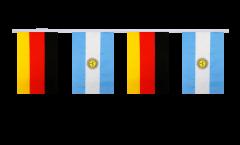 Freundschaftskette Deutschland - Argentinien - 15 x 22 cm