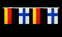 Freundschaftskette Deutschland - Finnland - 15 x 22 cm