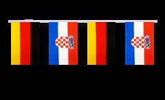 Freundschaftskette Deutschland - Kroatien - 15 x 22 cm