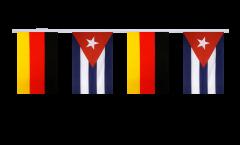Freundschaftskette Deutschland - Kuba - 15 x 22 cm