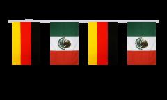 Freundschaftskette Deutschland - Mexiko - 15 x 22 cm