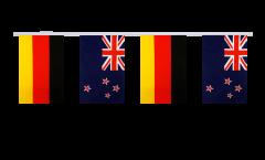 Freundschaftskette Deutschland - Neuseeland - 15 x 22 cm