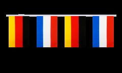 Freundschaftskette Deutschland - Niederlande - 15 x 22 cm