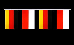 Freundschaftskette Deutschland - Polen - 15 x 22 cm
