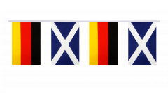 Freundschaftskette Deutschland - Schottland - 15 x 22 cm