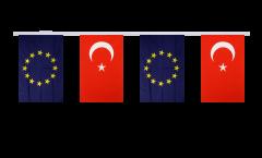 Freundschaftskette Türkei - Europäische Union EU - 15 x 22 cm
