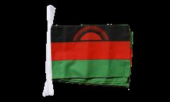 Fahnenkette Malawi - 30 x 45 cm