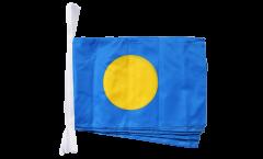 Fahnenkette Palau - 30 x 45 cm