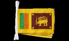 Fahnenkette Sri Lanka - 30 x 45 cm
