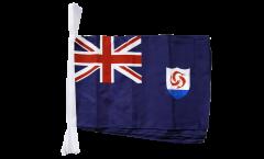 Fahnenkette Anguilla - 30 x 45 cm
