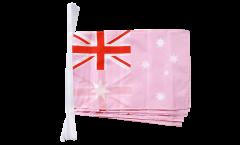 Fahnenkette Australien Pink - 30 x 45 cm