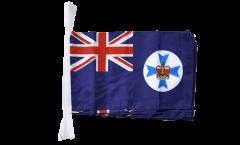 Fahnenkette Australien Queensland - 30 x 45 cm