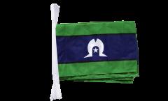 Fahnenkette Australien Torres Strait Islands - 30 x 45 cm