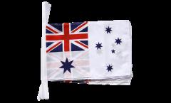 Fahnenkette Australien Royal Australian Navy - 30 x 45 cm