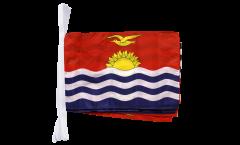 Fahnenkette Kiribati - 30 x 45 cm