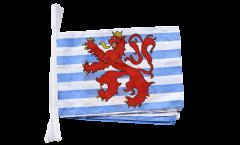 Fahnenkette Luxemburg Löwe - 30 x 45 cm