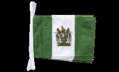 Fahnenkette Rhodesien - 30 x 45 cm