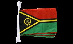 Fahnenkette Vanuatu - 30 x 45 cm