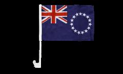 Autofahne Cook-Inseln - 30 x 40 cm